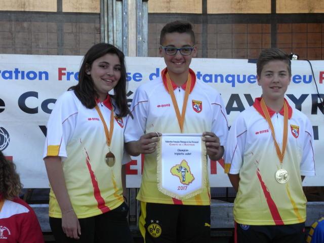 Les champions Cadets