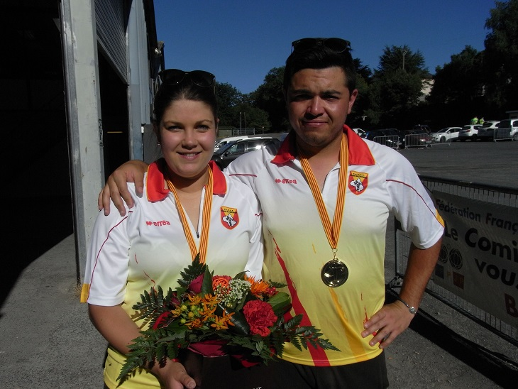 Champions 2017 Dorianne Carel - Maxime Vanel