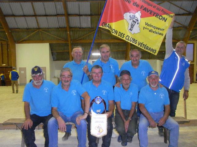 Champion CDC Vétérans D1