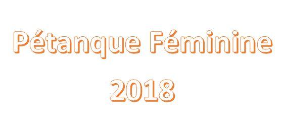 Féminines 2018