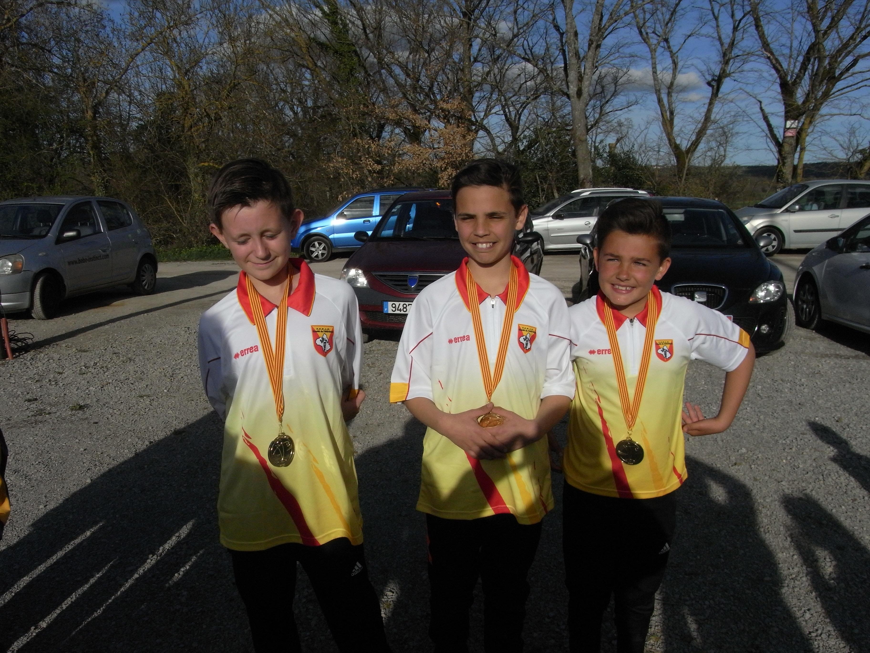Championnat Triplette jeunes