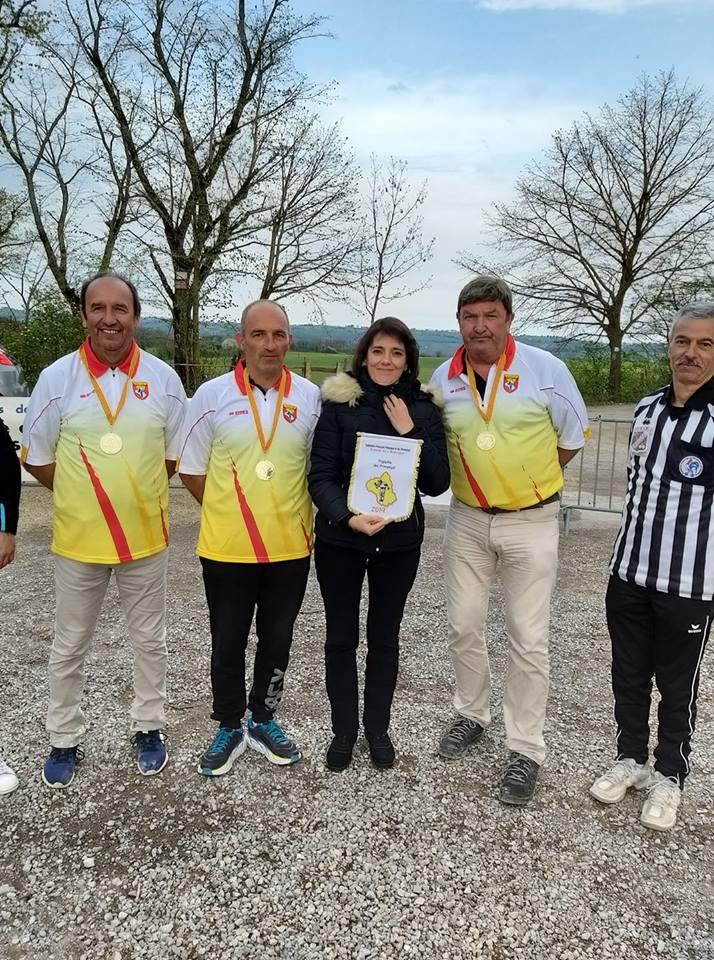 Triplette Provençal et Tête à tête jeunes 2019