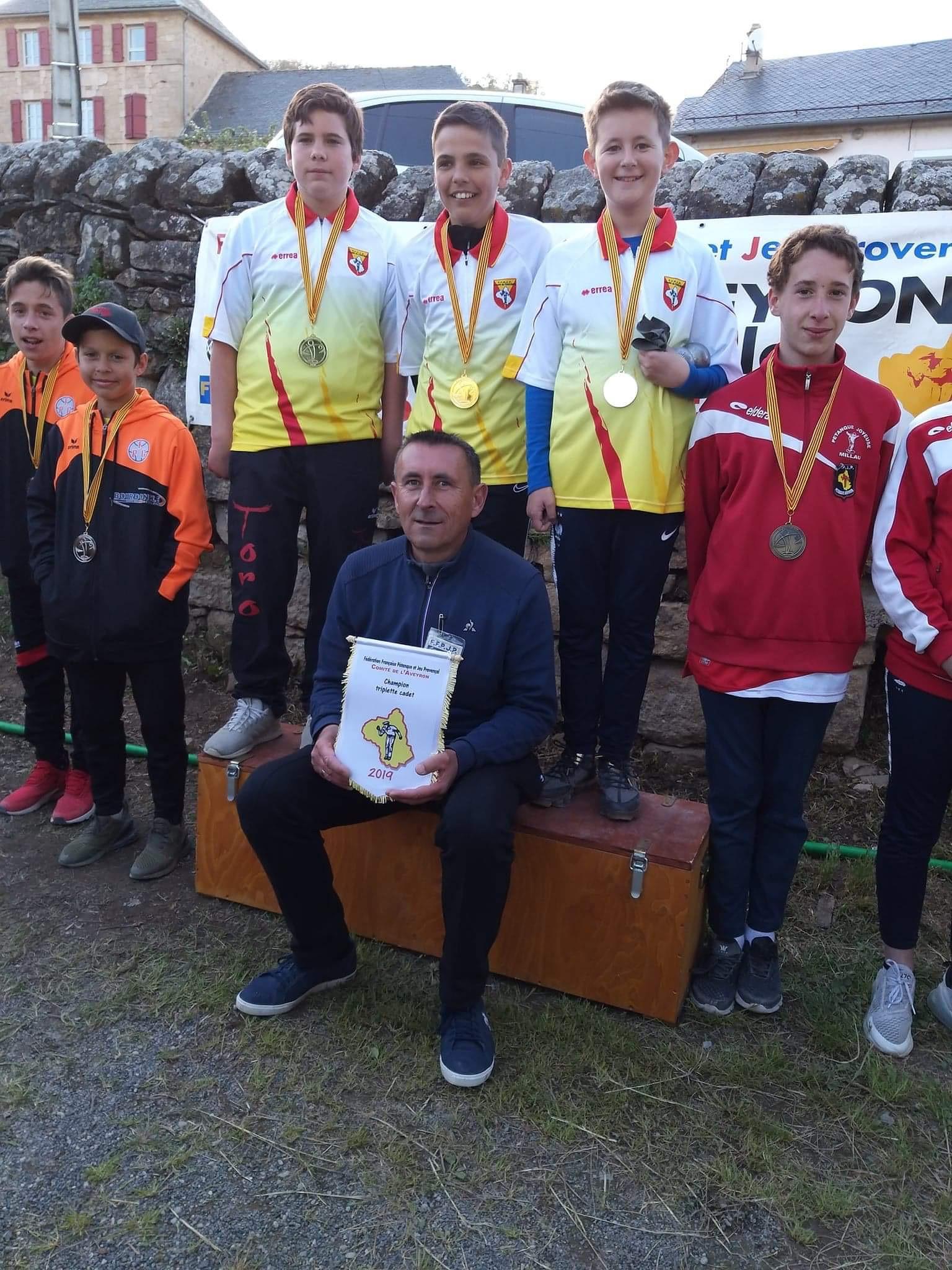Championnat Doublette mixte 2019