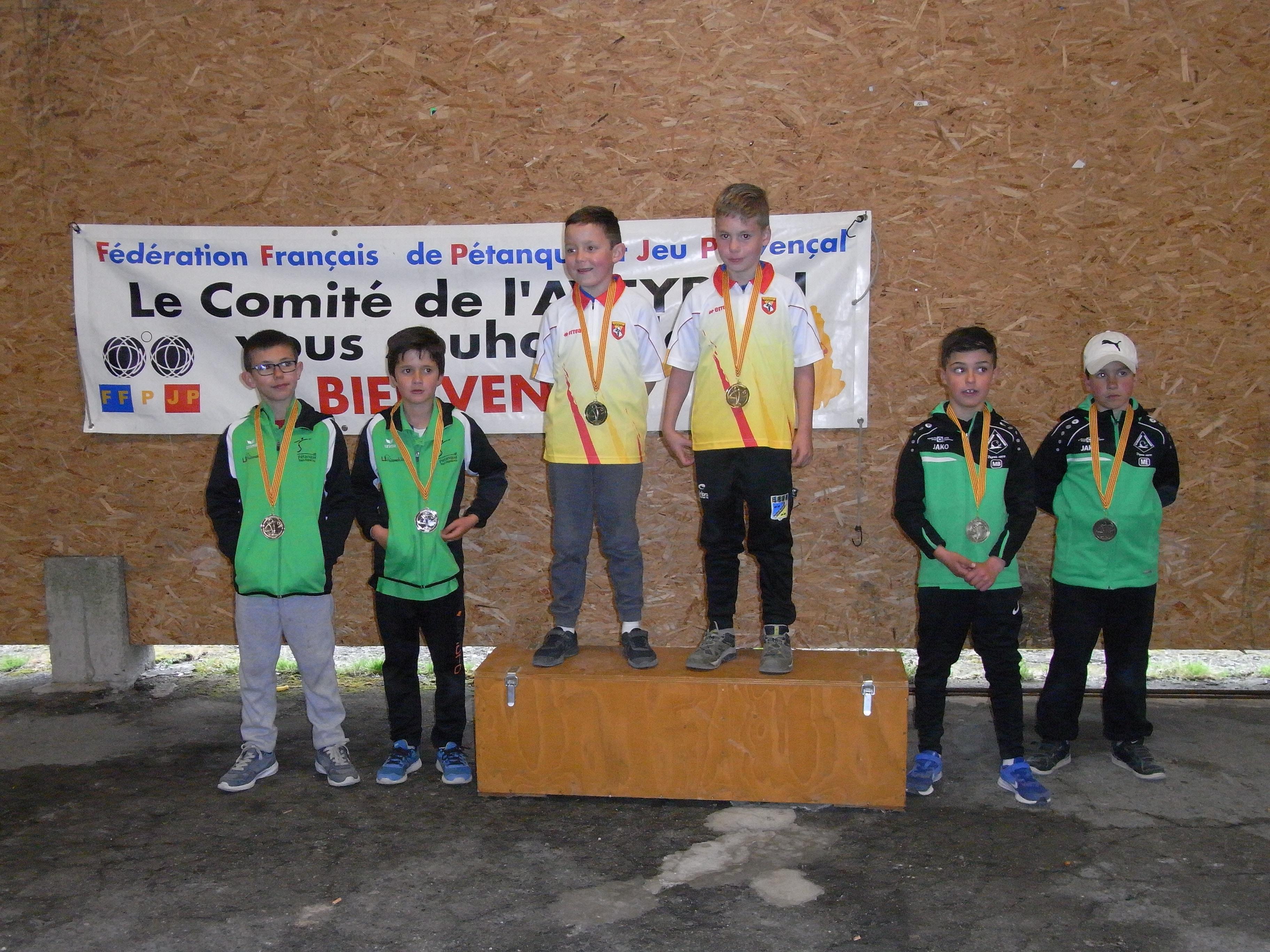 Championnat Triplette Promotion Doublette jeune