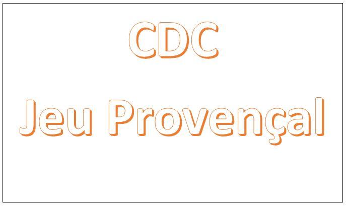 CDC Jeu Provençal