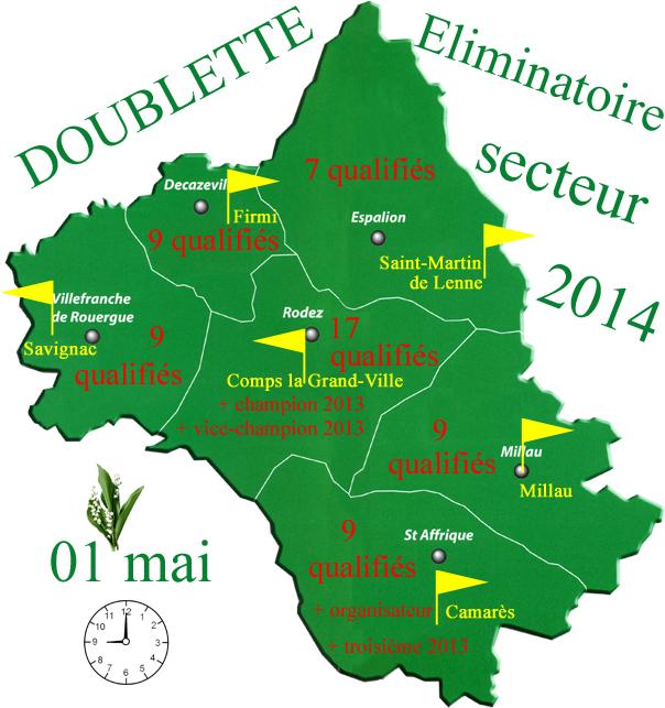 Eliminatoire doublette 2014 (màj02/05)