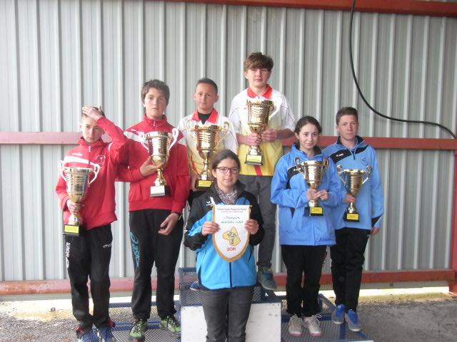 Finales 2014 championnat de l'Aveyron doublette