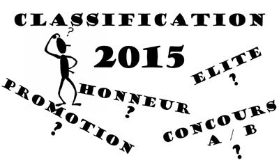 La Classification 2014/15 (màj26/11)