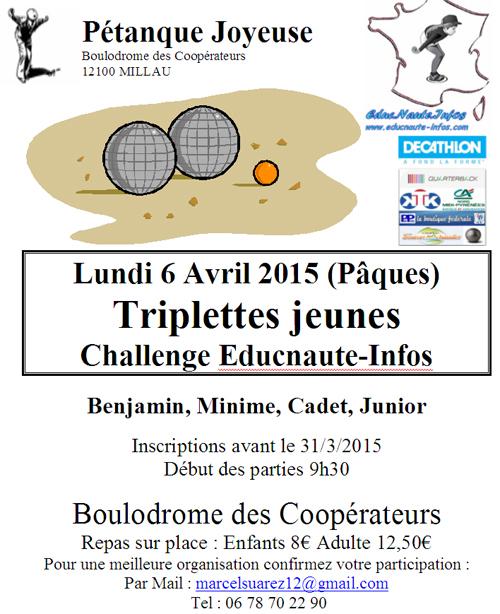 5me étape Challenge Educnaute (màj08/04)