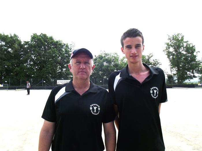 Patrick Bruel / Tom Bruel (P.Réquistanaise) qualifiés pour la ligue