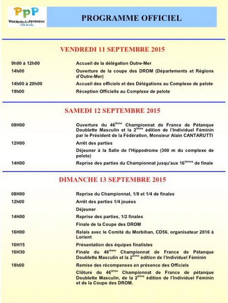 46me Championnat de France DS et 2ème Championnat de France TTSF (màj12/09)