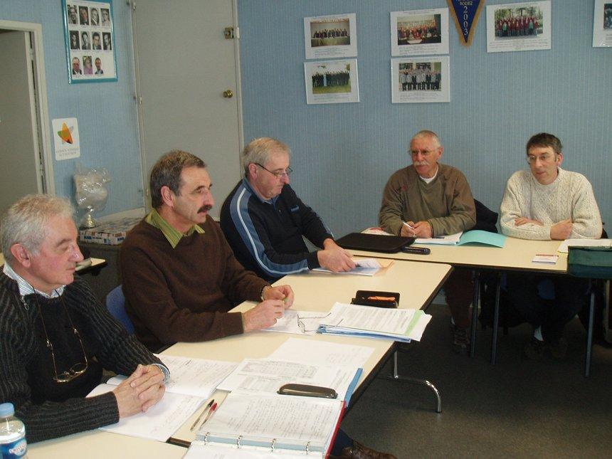 Réunion du Comité Directeur le 2 février 2008 au Siège