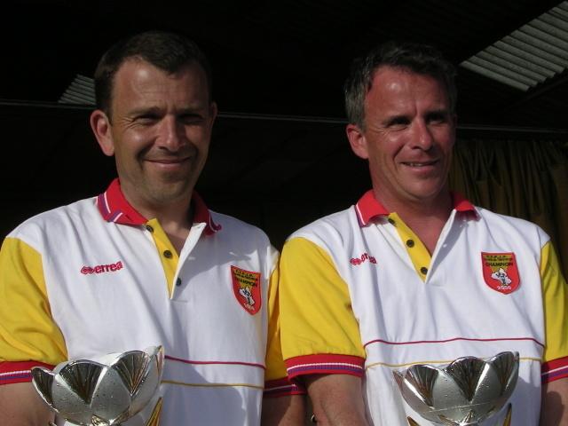 Laurent Morillon - Jean Pierre Mas (Creissels) Champions 2008