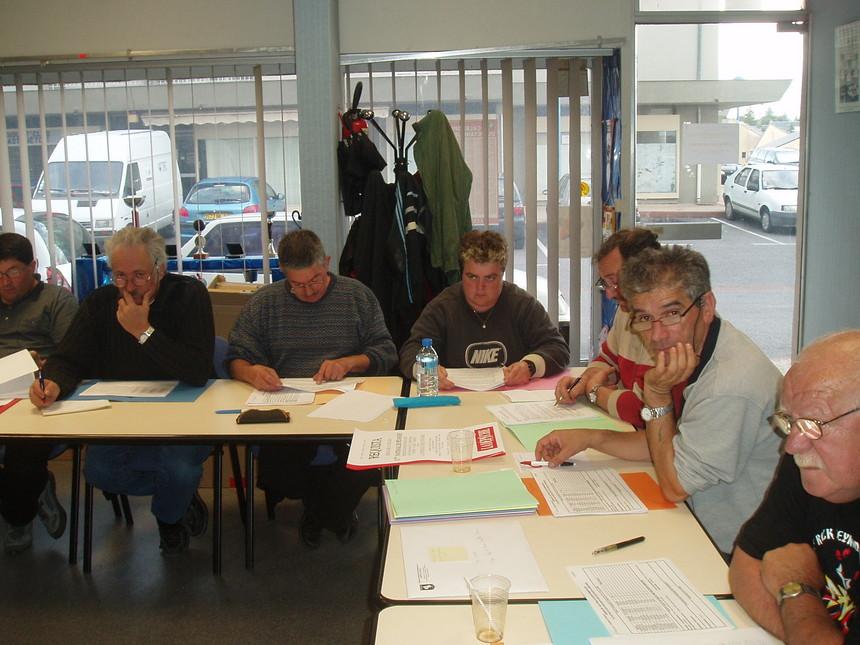Réunion du Comité Directeur le 18 avril 2008 au Siège