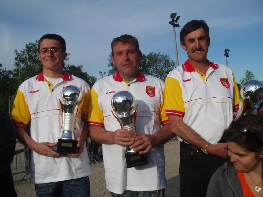 Mickaël Amalric-Yves Marro-Roland Blayac (Belmont) champions 2008