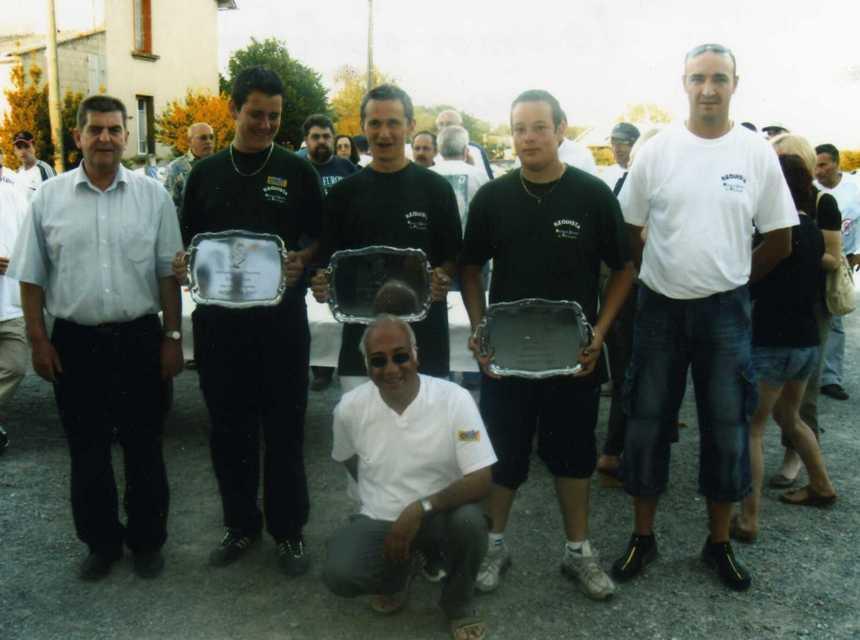 L'equipe de France Vainqueur tournoi exhibition 2007