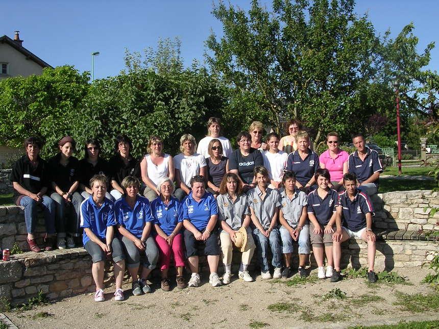 Challenge Féminin par équipes de clubs - 1er tour 22 juin 2008 à Sébazac