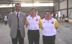 Championnat de Ligue doublette mixte les 25 et 26 octobre 2008 à Gaillac