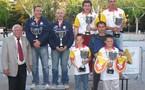 Championnat de l'Aveyron finale doublette seniors des 29/30 avril 2006 à Millau