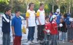 Championnat de l'Aveyron finale doublette cadets les 29/30 avril  2006 à Millau