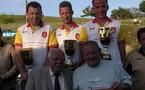 Championnat de l'Aveyron finale triplette seniors 13/14 mai 2006 au Nayrac