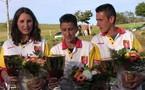 Championnat de l'Aveyron finale triplette feminines les 13/14 mai 2006 au Nayrac