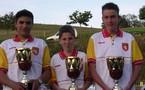 Championnat Aveyron finale triplette juniors les 13/14 mai 2006 au Nayrac