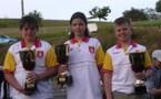 Championnat Aveyron finale  triplette cadets les 13/14 mai 2006 au Nayrac