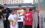 Championnat Aveyron fionale tête à tête juniors le 20 mai 2006 à Rodez St Eloi