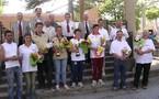 Championnat Aveyron finale doublettes mixtes les 20/21 mai 2006 à St Affrique
