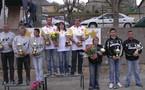 Championnat Aveyron finale triplettes mixtes les 8/9 avril 2006 à La Fouillade