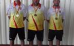 Champions 2021 : Tremolet L. - Couvignou D. - Charriere M.  (MARMOTTE P STGENIEZD'OLT)