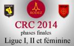 CRC 2014 Divisions I, II et féminine (màj25/11)