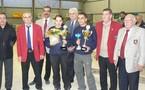 21ème championnat de Ligue doublette mixte les 27/28 octobre 2007 à Espalion